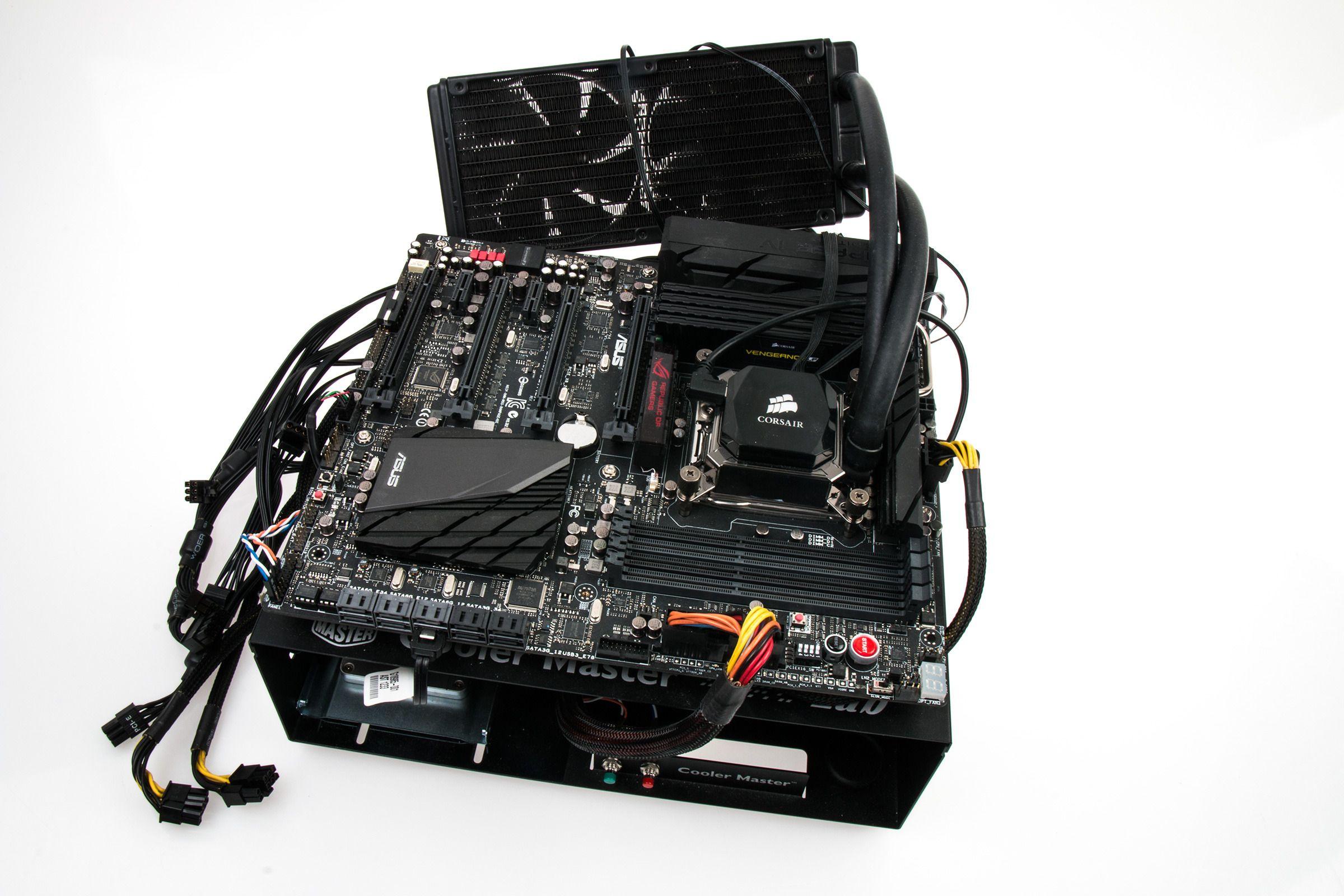 Ny maskinvare skal hjelpe oss å tyne skjermkortene videre.Foto: Varg Aamo, Tek.no
