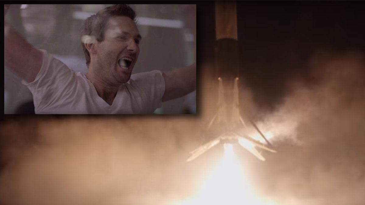 Sjekk den heftige videoen fra Falcon 9-landingen