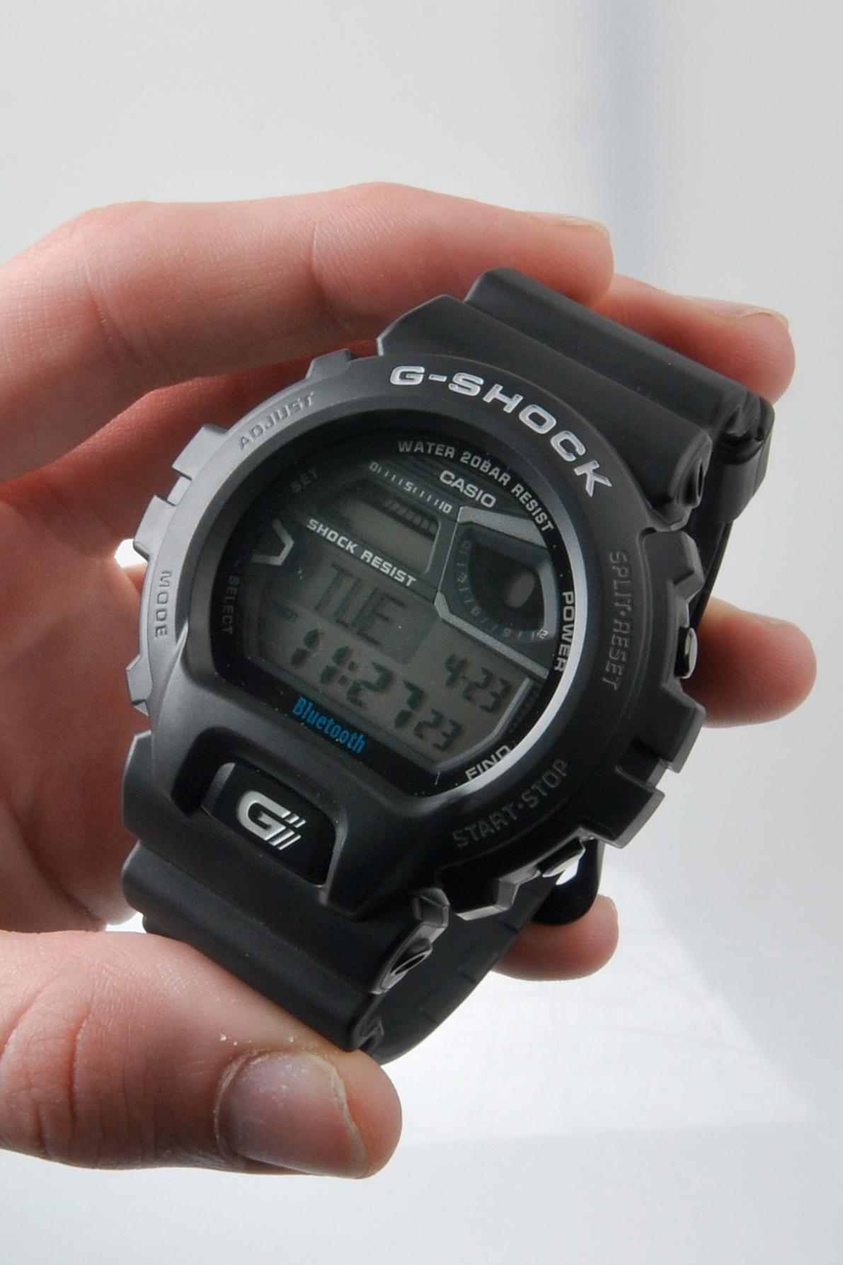 Casio G-Shock GB-6900AA. Foto: Sander Dyrop, Amobil.no