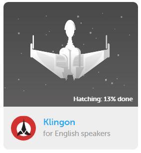 Har du lyst til å lære Klingon? Foto: Duolingo
