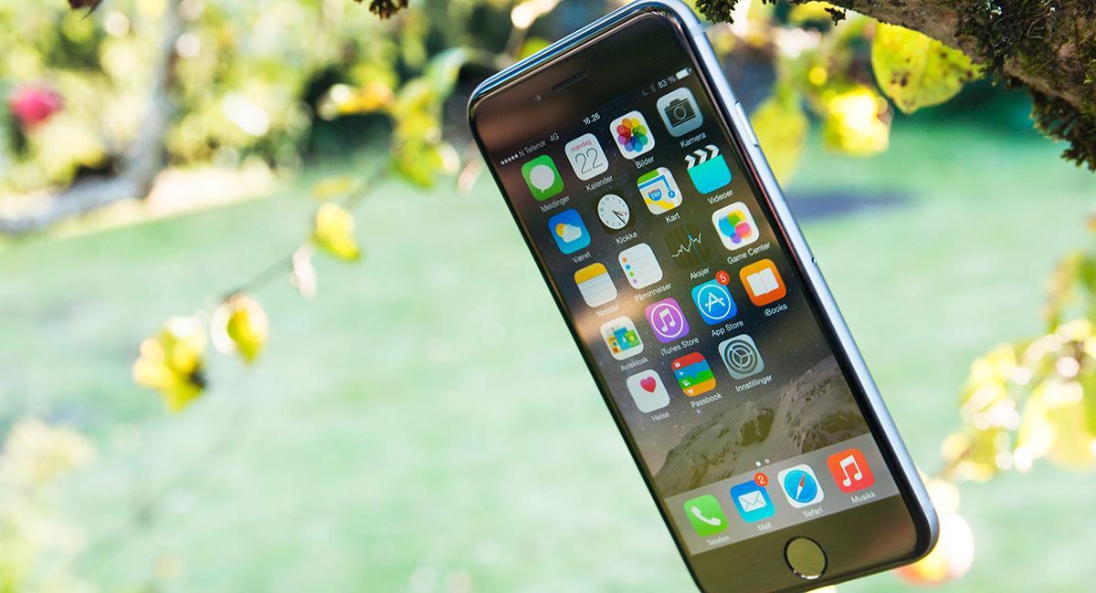 Apple iPhone 6.Foto: Finn Jarle Kvalheim, Amobil.no