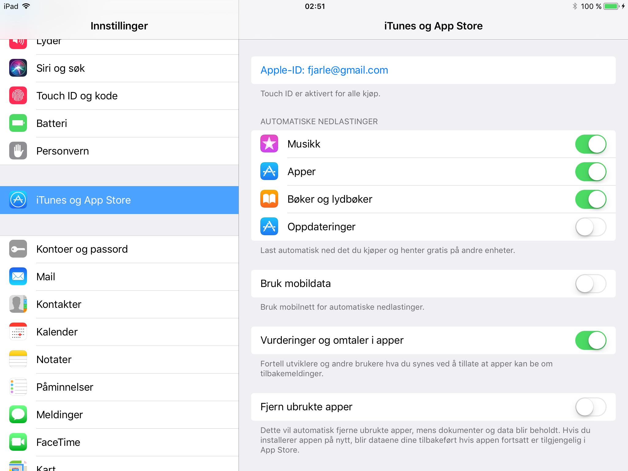 Nederst i innstillingsmenyen for App Store kan man be iOS 11 om å fjerne apper som ikke brukes. Akkurat hvor godt det virker vites foreløpig ikke.