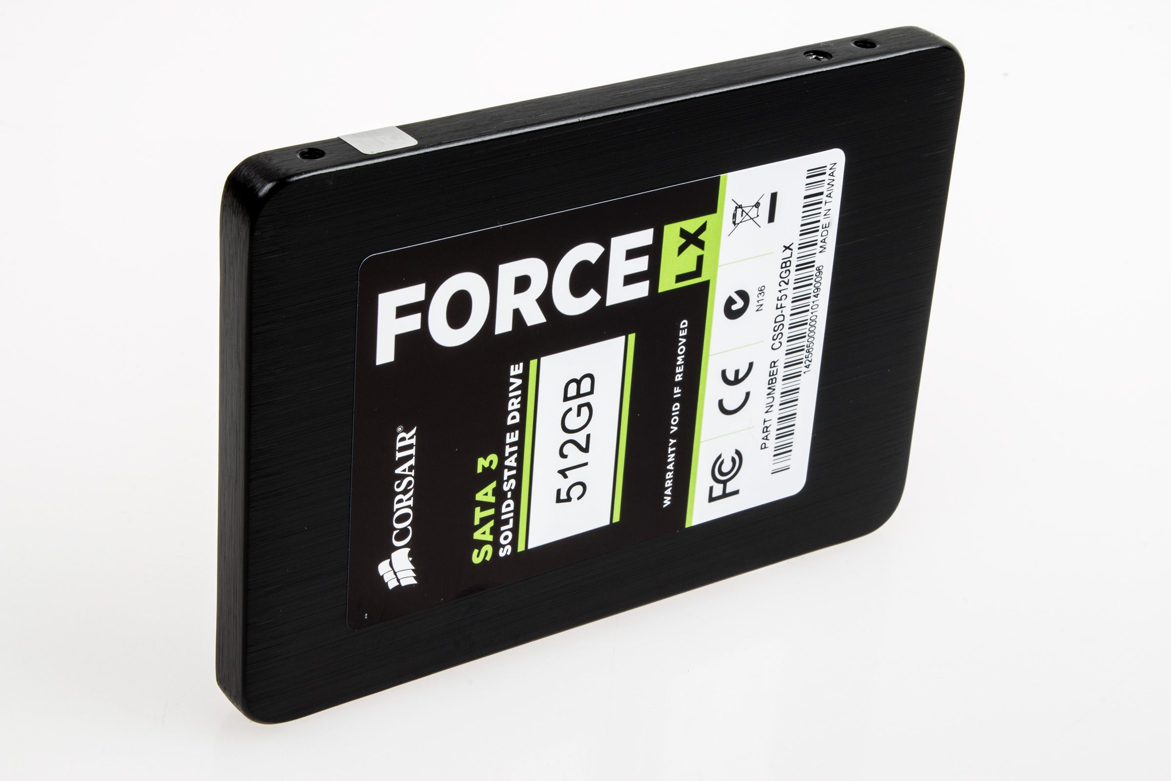 Corsair Force LX 512 GB SSD.Foto: Varg Aamo, Hardware.no