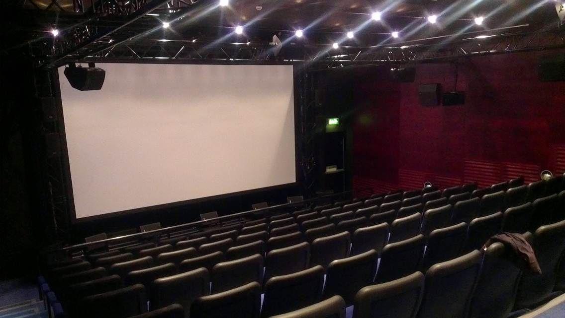 OL ble vist i Cubby Broccoli Cinema ved National Museum i Bradford England. Foto: Torkel Thoresen