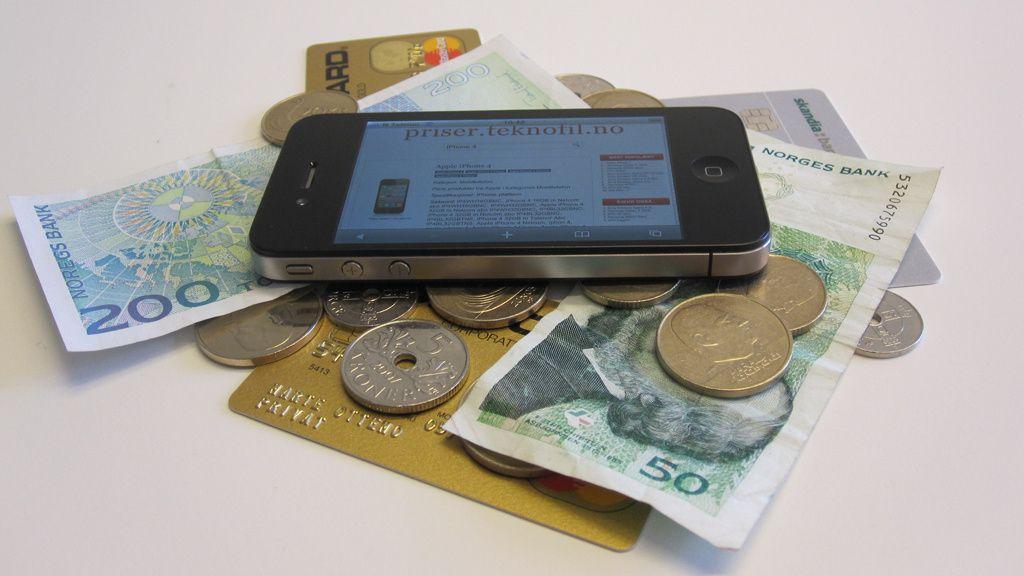 Spar 4 000 kroner på iPhone 4