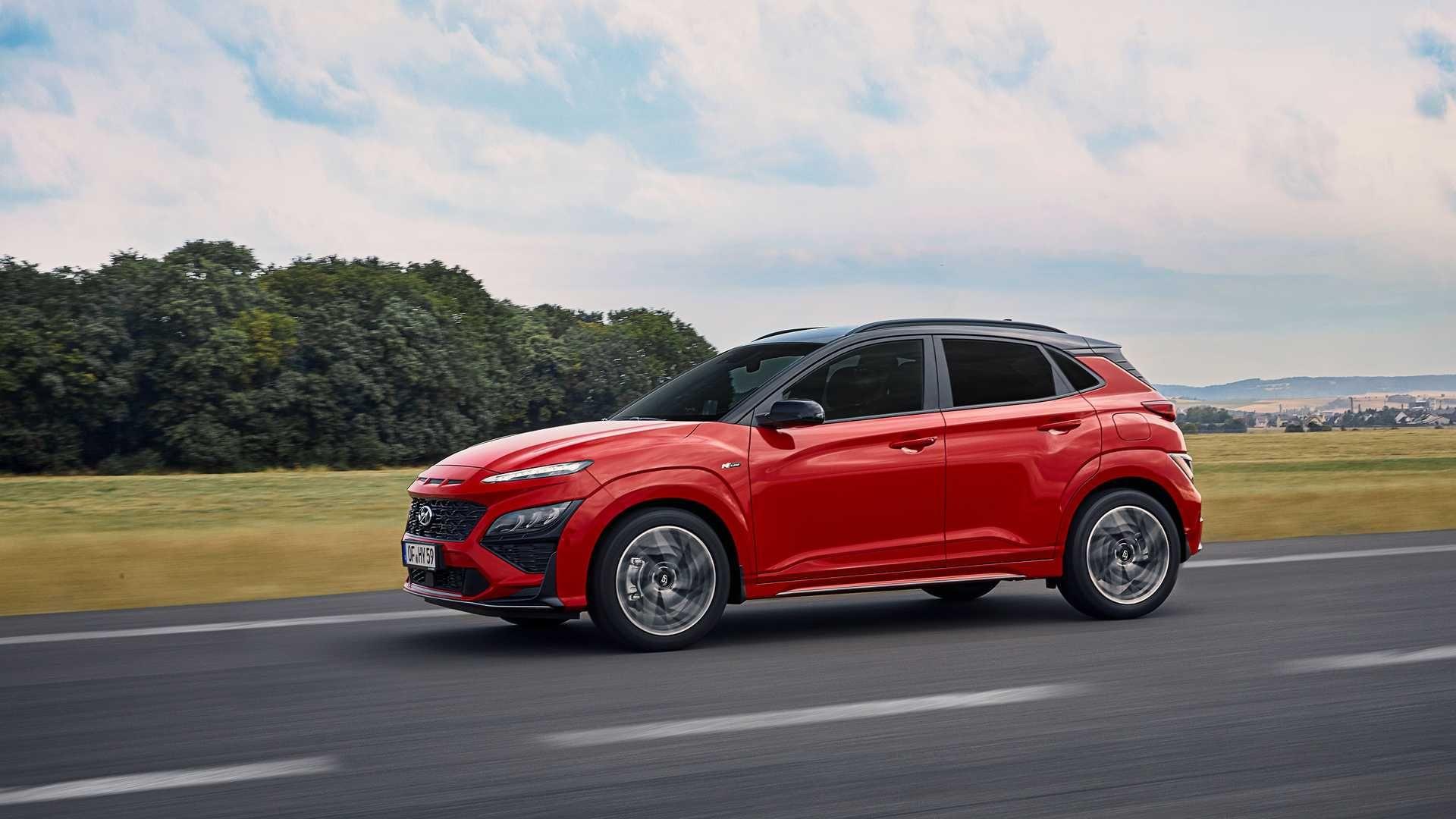 Hyundai har vist frem ny Kona