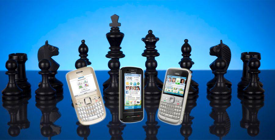 Tre nye sjakktrekk fra Nokia