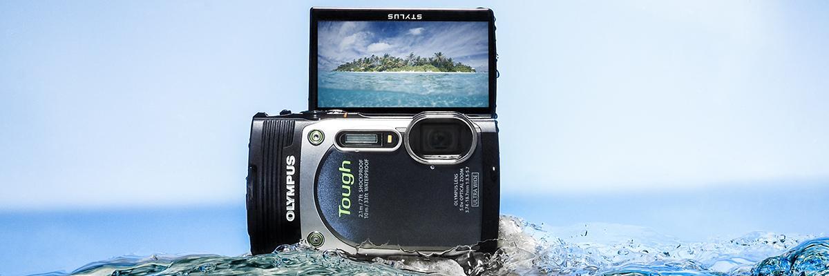 Dette kompaktkameraet skal tåle det meste