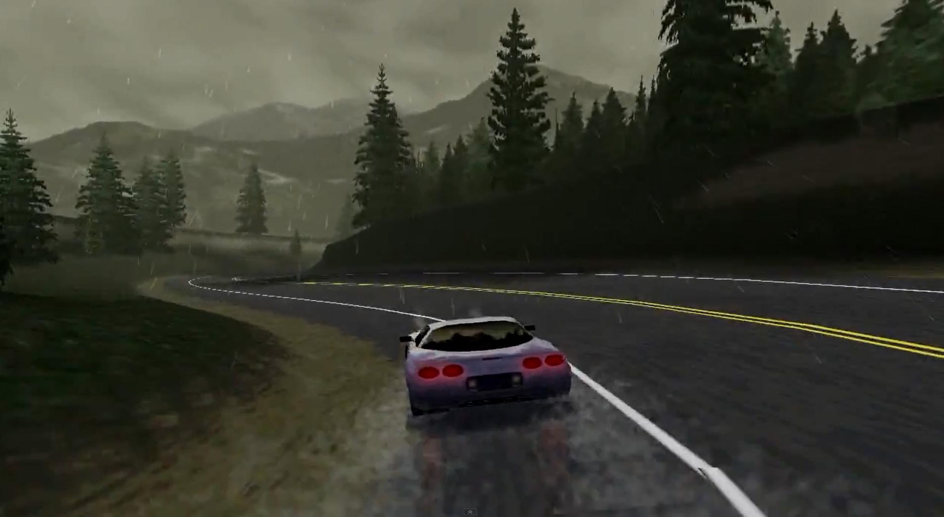 Need for Speed 3 leverte digre, detaljrike baner, og svært imponerende bilmodeller.