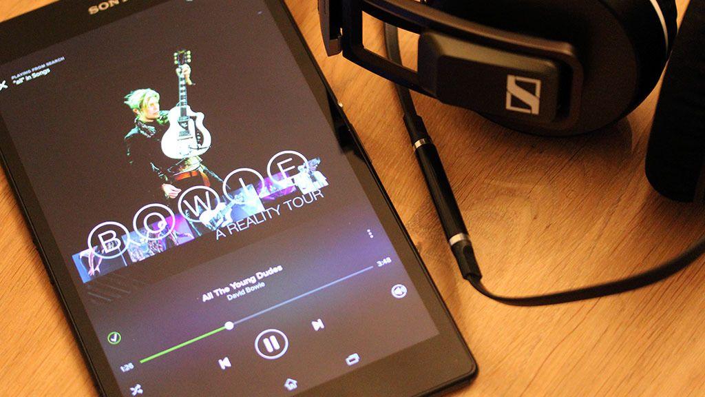 Sony er gode på musikk, også i nettbrettene sine.Foto: Espen Irwing Swang, Tek.no