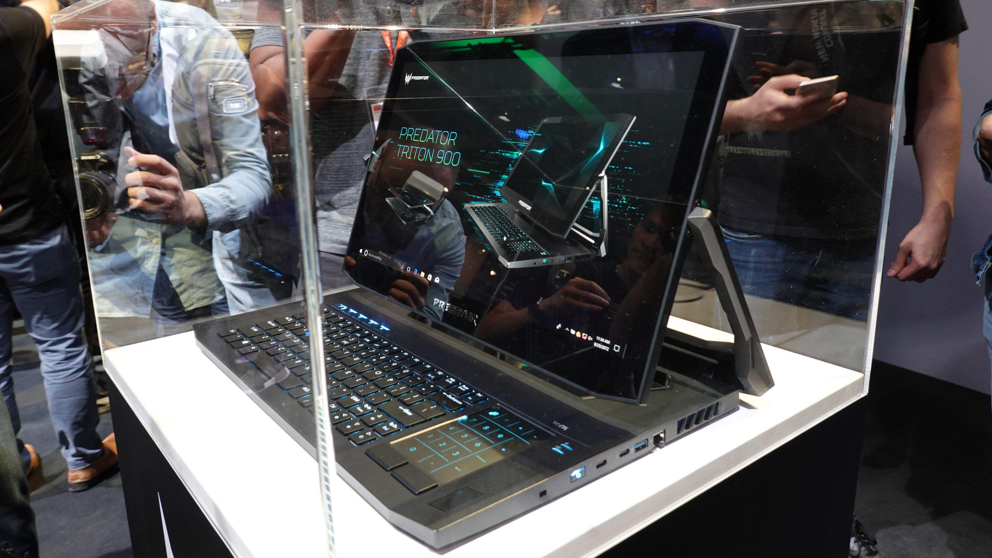 Intel RTX, Xeon-prosessorer og superhengsel er stikkord ved Acers kommende gamingmodeller