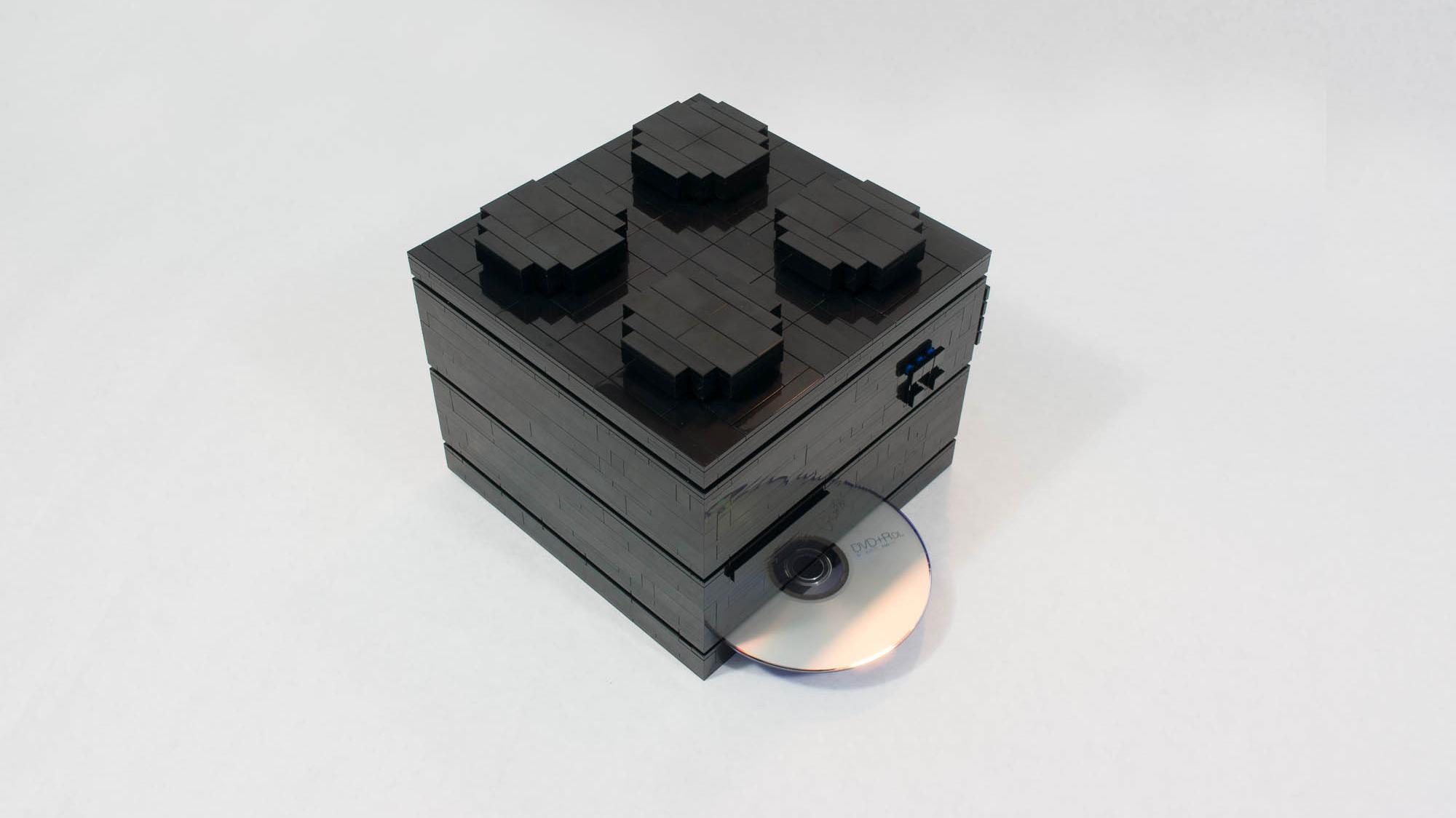 Denne datamaskinen er bygget av LEGO
