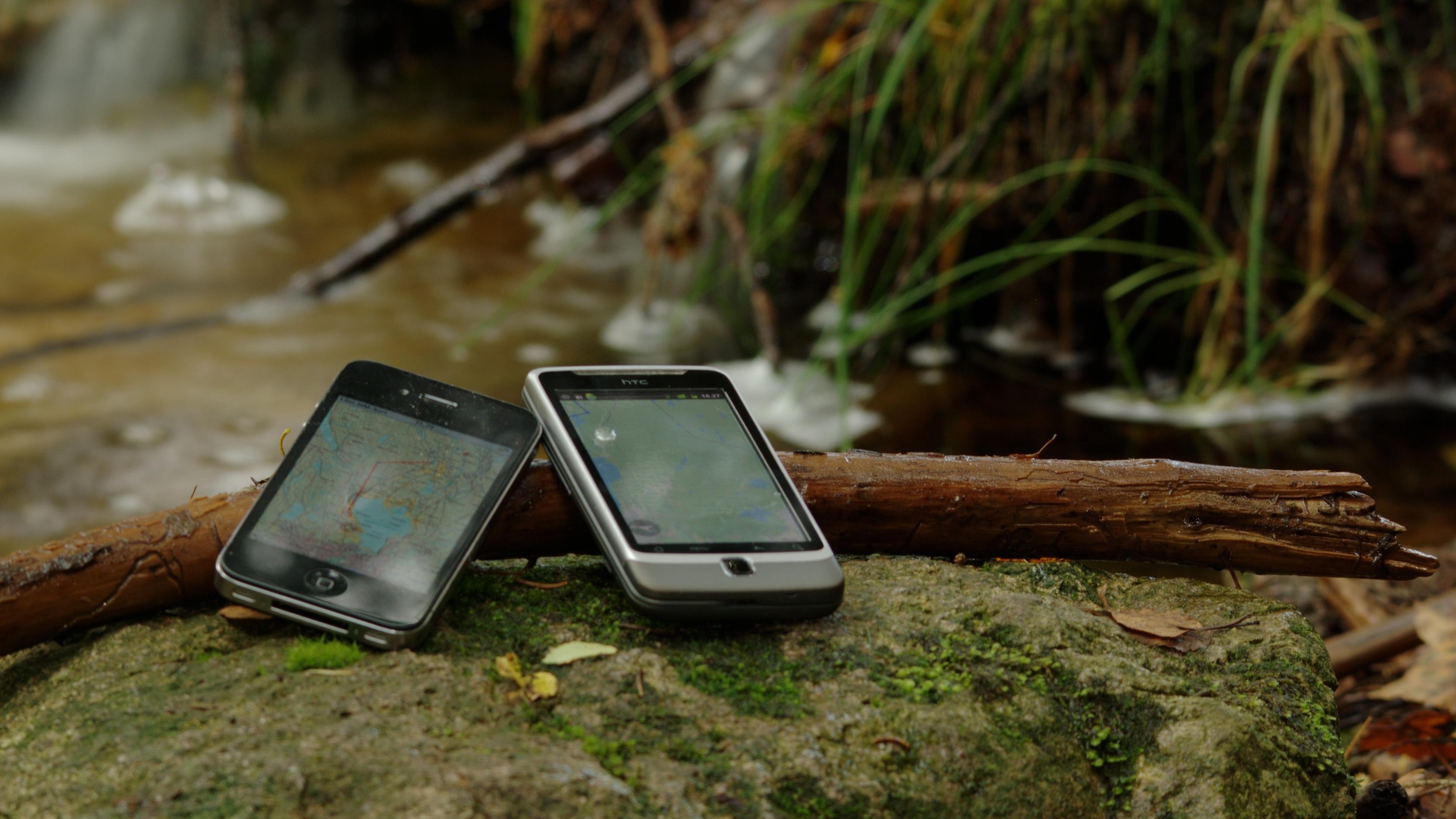 Apps for navigasjon i skog og mark