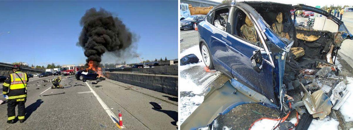 Autopilot og mobilbruk får noe av skylden i dødskrasj