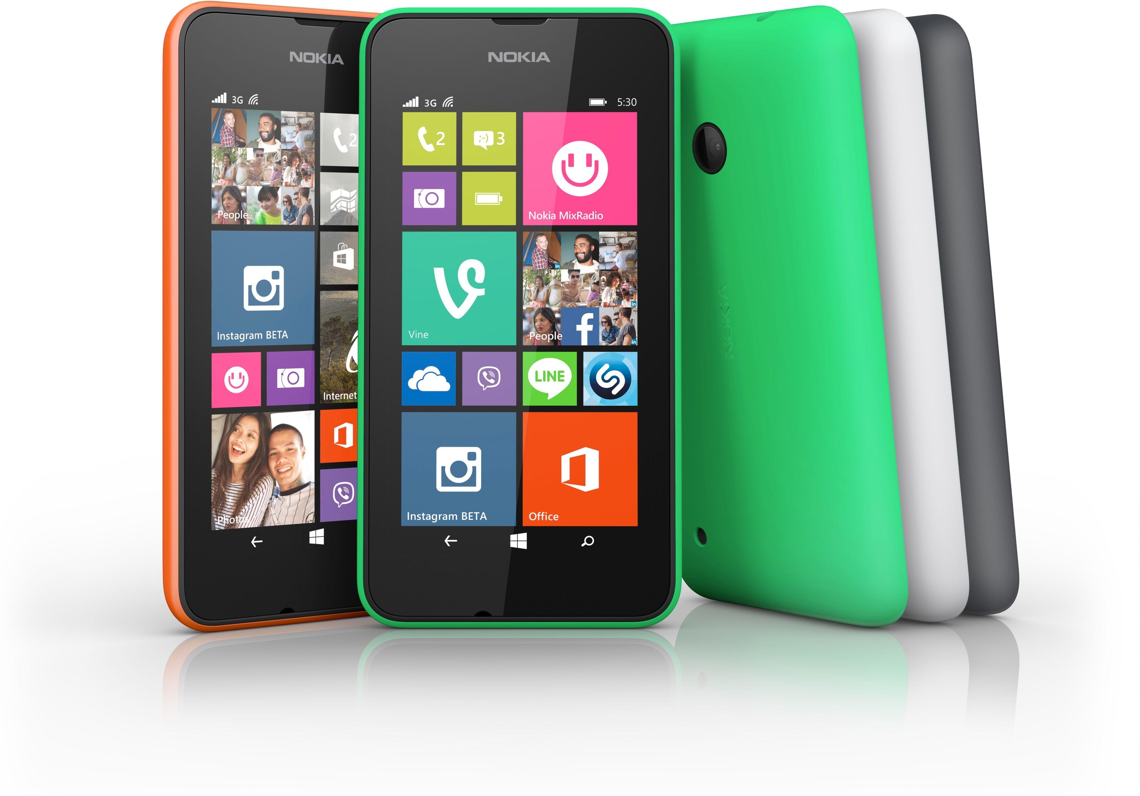 Nokia Lumia 530.