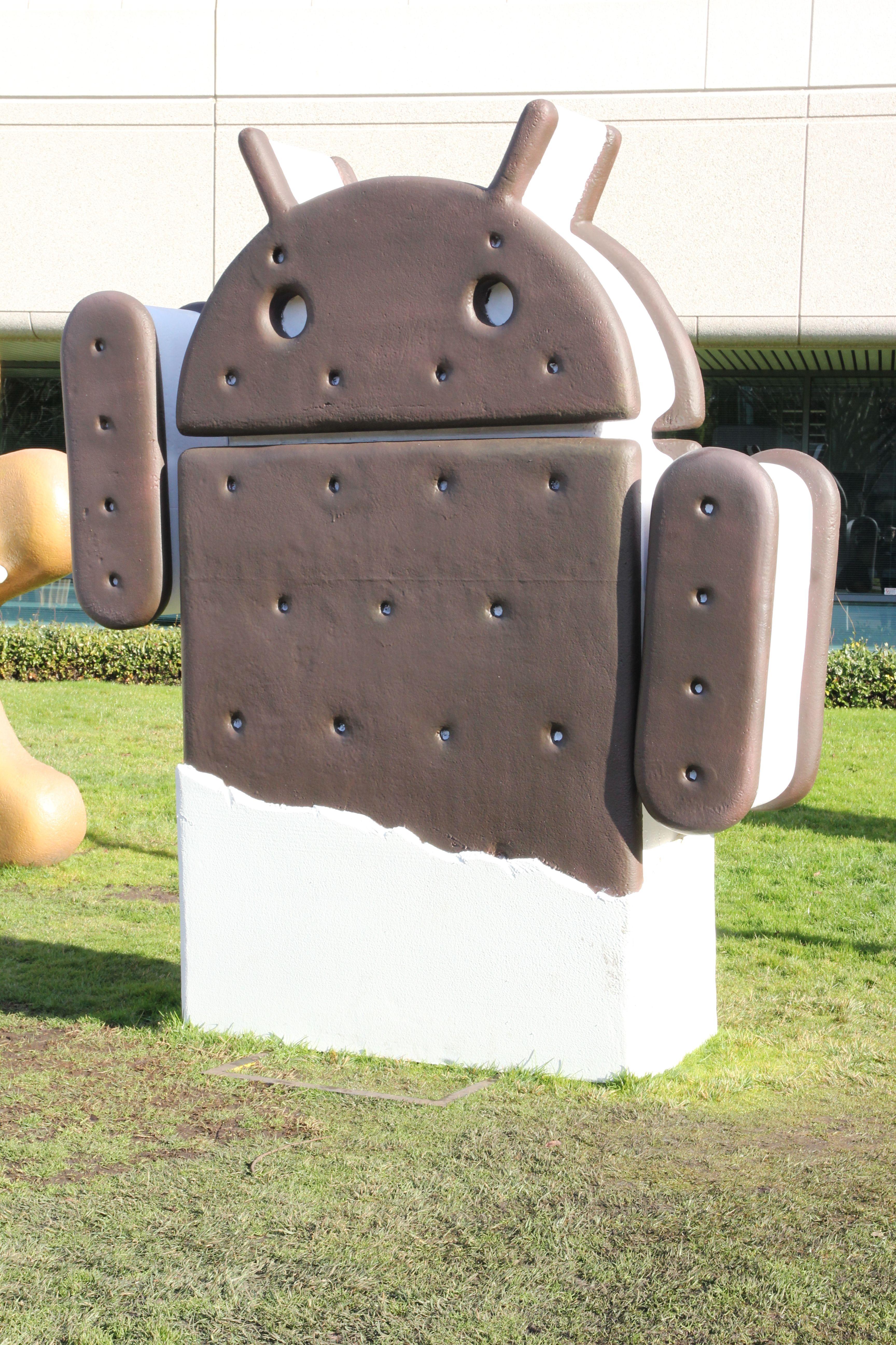 Foreløpig fungerer Google Chrome kun på Android 4.0 Ice Cream Sandwich. (Foto: Jørgen Elton Nilsen)