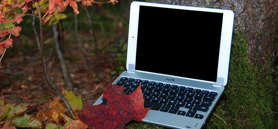 Denne gjør iPad-en om til en bærbar PC