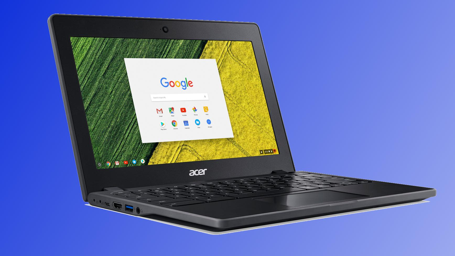 Acers nye Chromebook kan du trygt miste på bakken