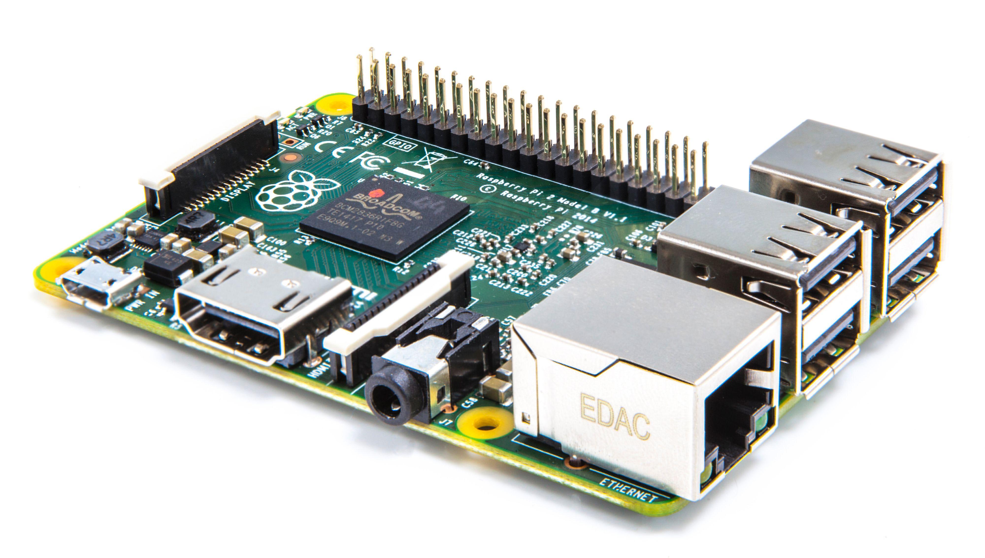 Raspberry Pi 2 Model B. Foto: Raspberry Pi