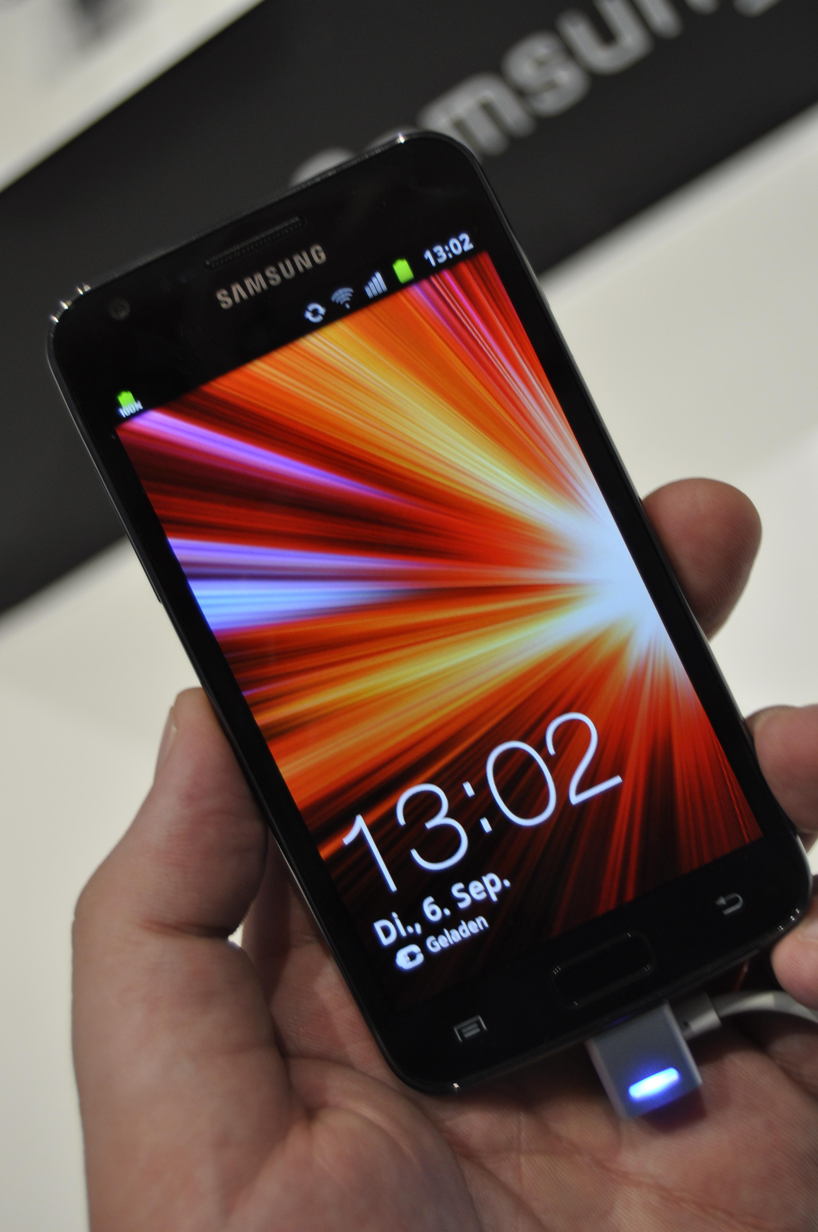 Galaxy S II LTE har større skjerm enn sin navnebror, men den har ikke høyere oppløsning. Bildekvaliteten er likevel fortsatt i toppklasse.