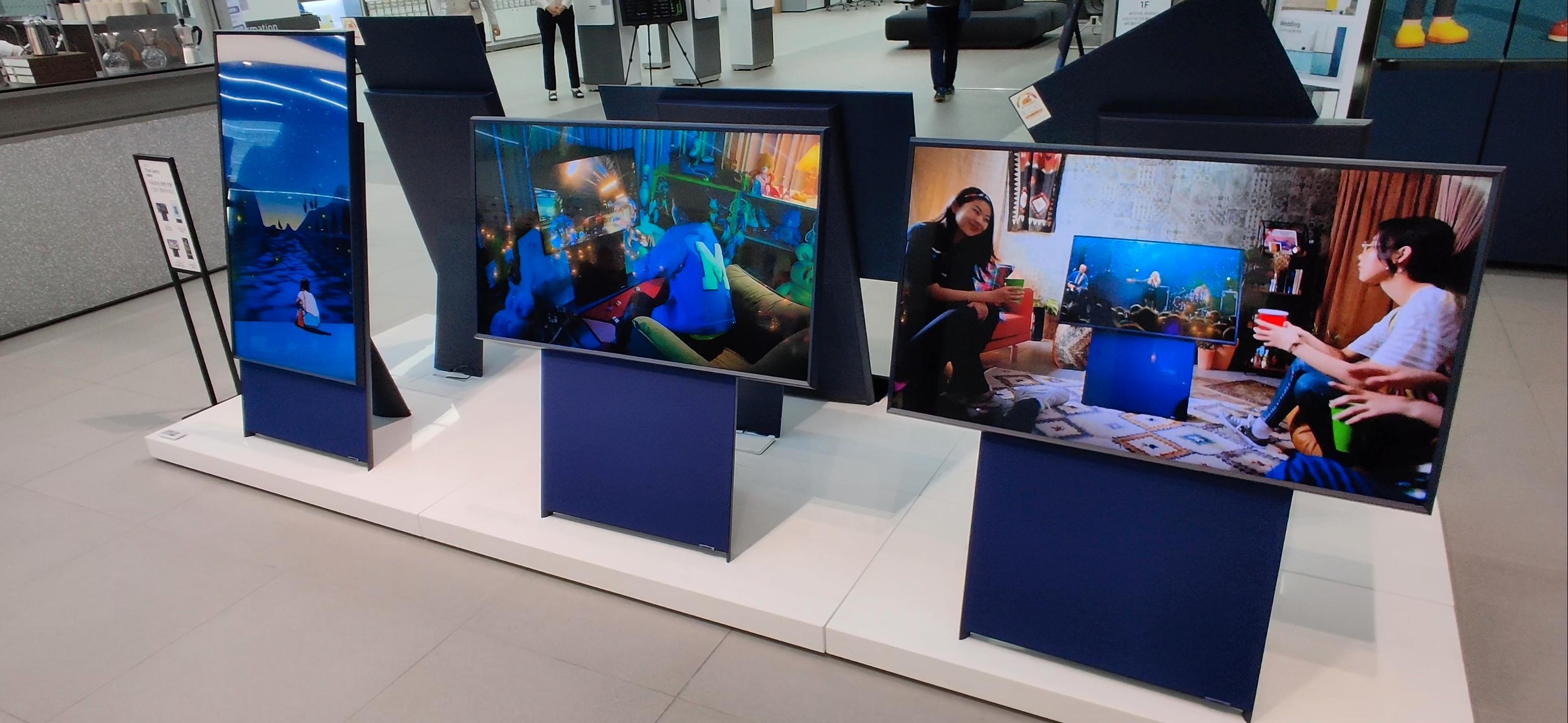 Samsungs «The Sero» er en helt spesiell TV