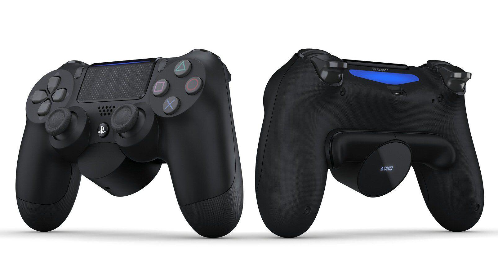 DualShock 4 får plutselig flere knapper