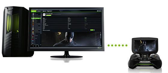 Datamaskinen spillene skal strømmes fra må ha GeForce Experience installert.