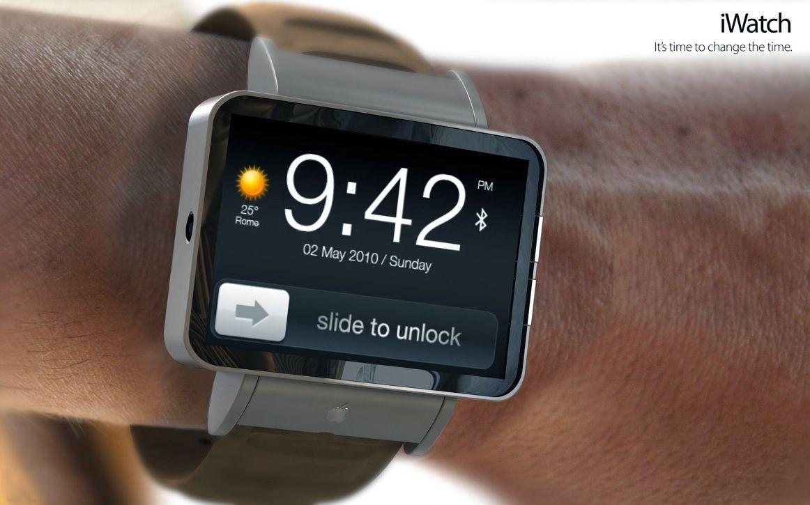 Apples iWatch kommer sannsynligvis til neste år - men det er slett ikke sikkert den blir markedslederen. Bildet er et av mange konseptdesign som ikke stammer fra Apple selv.Foto: Brett Jordan, CC-Attribution (Uoffisielt konseptbilde)