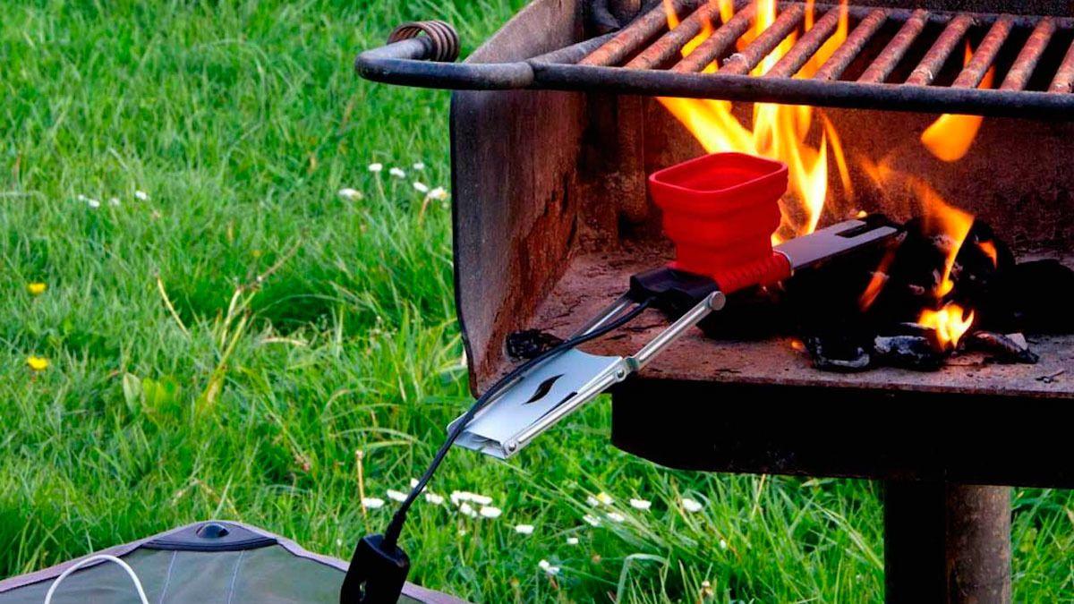 Denne dingsen forvandler flammer til strøm - så du kan lade mobilen