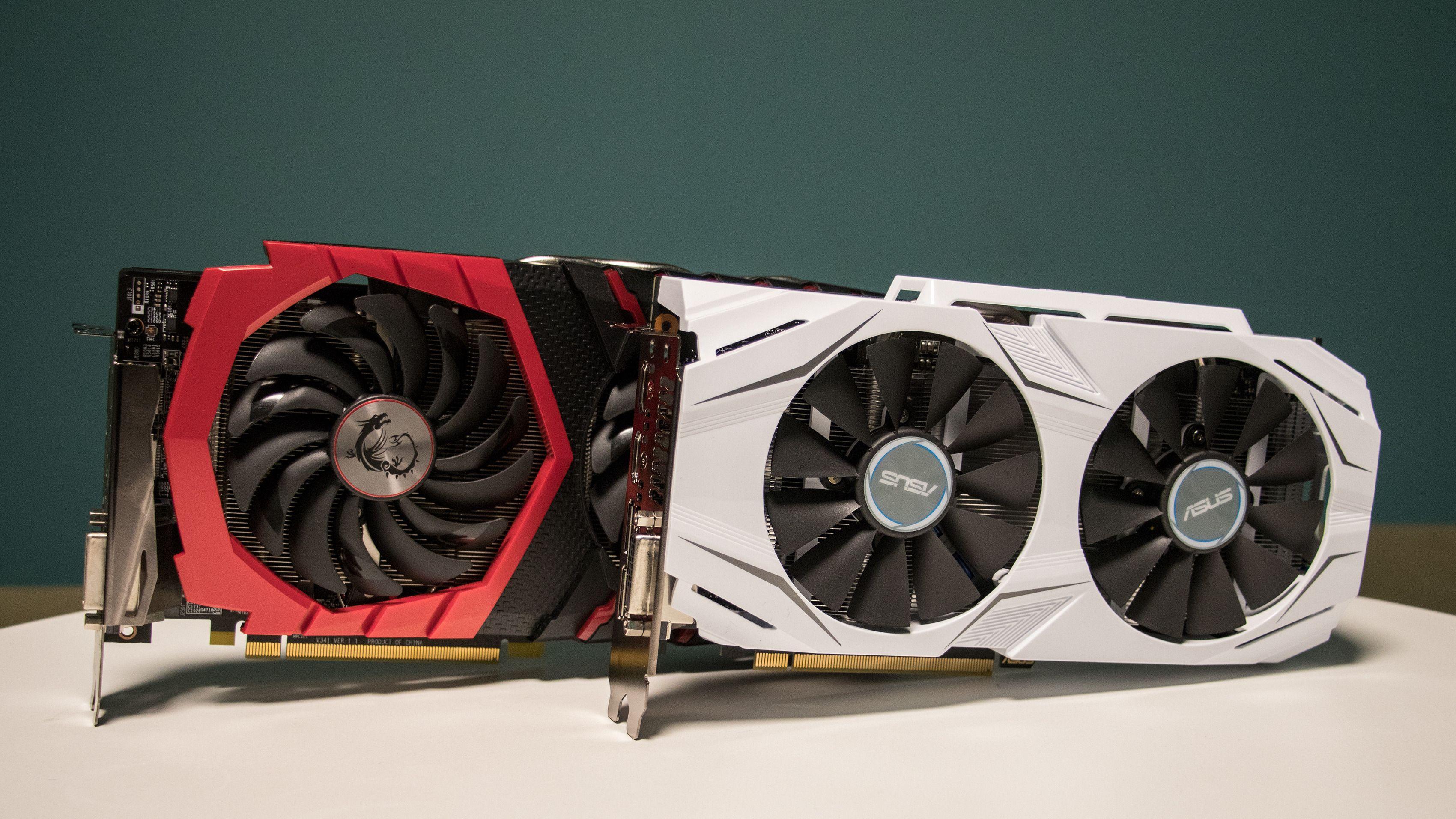 Hvilket av «MSI RX 480 4GB Gaming X» og «Asus GTX 1060 3GB Dual OC» bør du investere i?