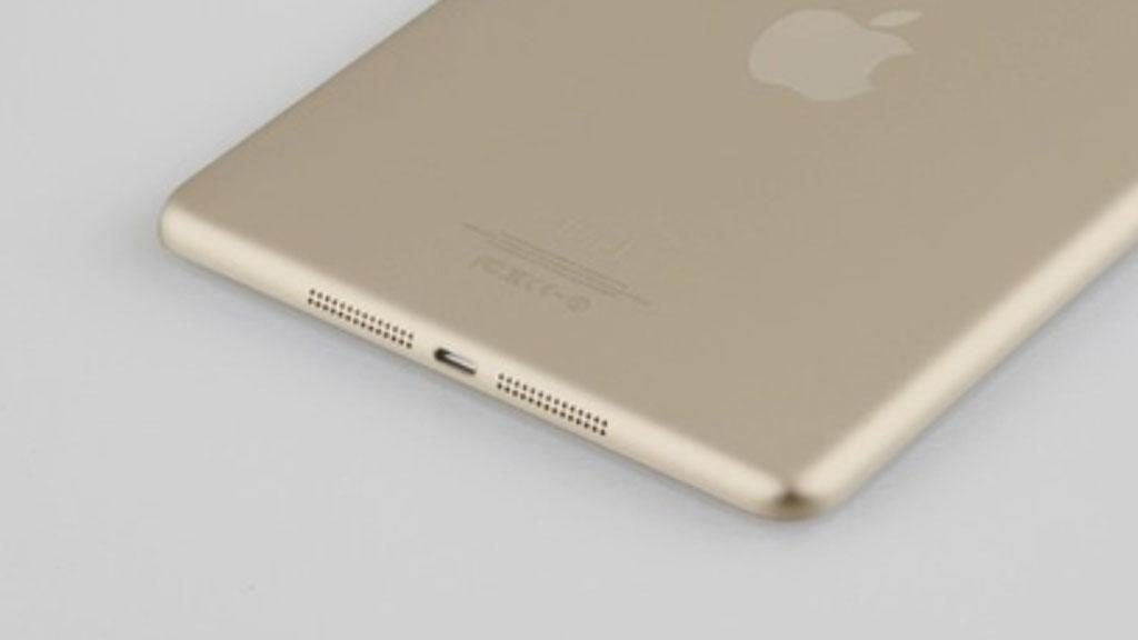 Dette skal være et lekket bilde av en gullfarget iPad mini.Foto: Sonny Dickson.