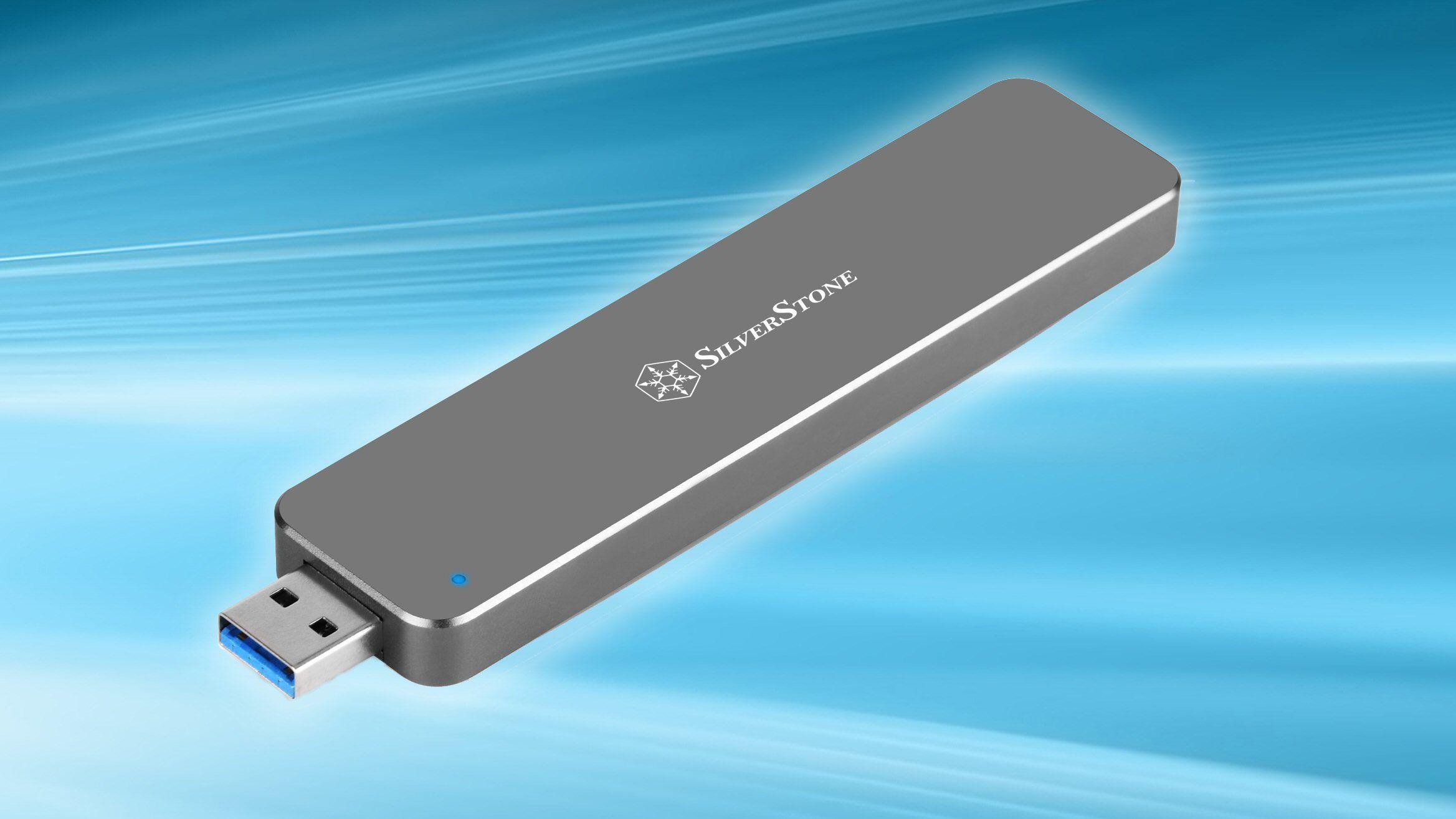 Lar deg bruke din gamle M.2-SSD som minnepinne