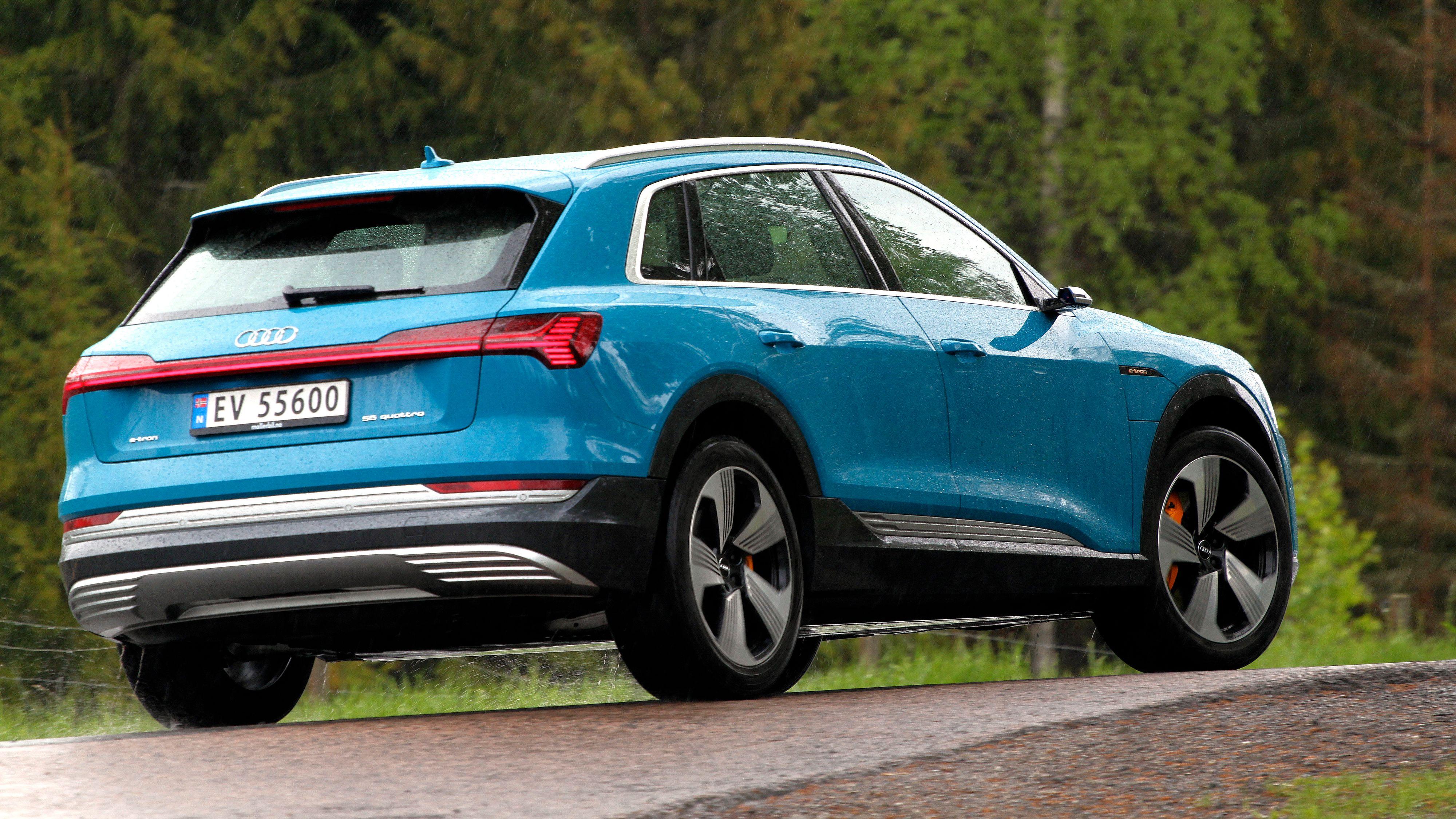 Audis e-tron 55 kommer med oppgradert innmat fra og med denne uken. Men kun for nye kunder.