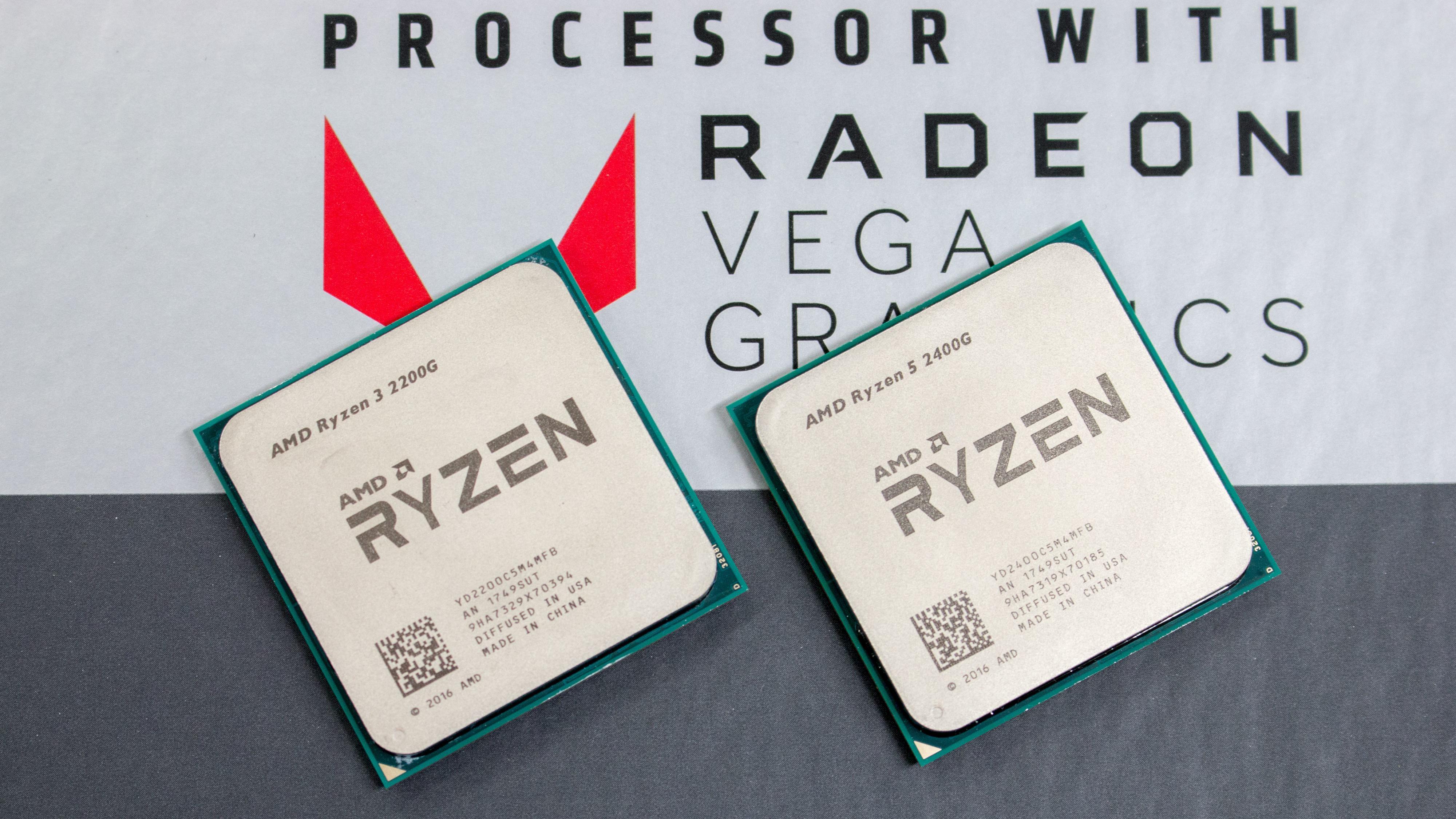 AMD har sluppet sin strømgjerrige Ryzen med Vega-grafikk