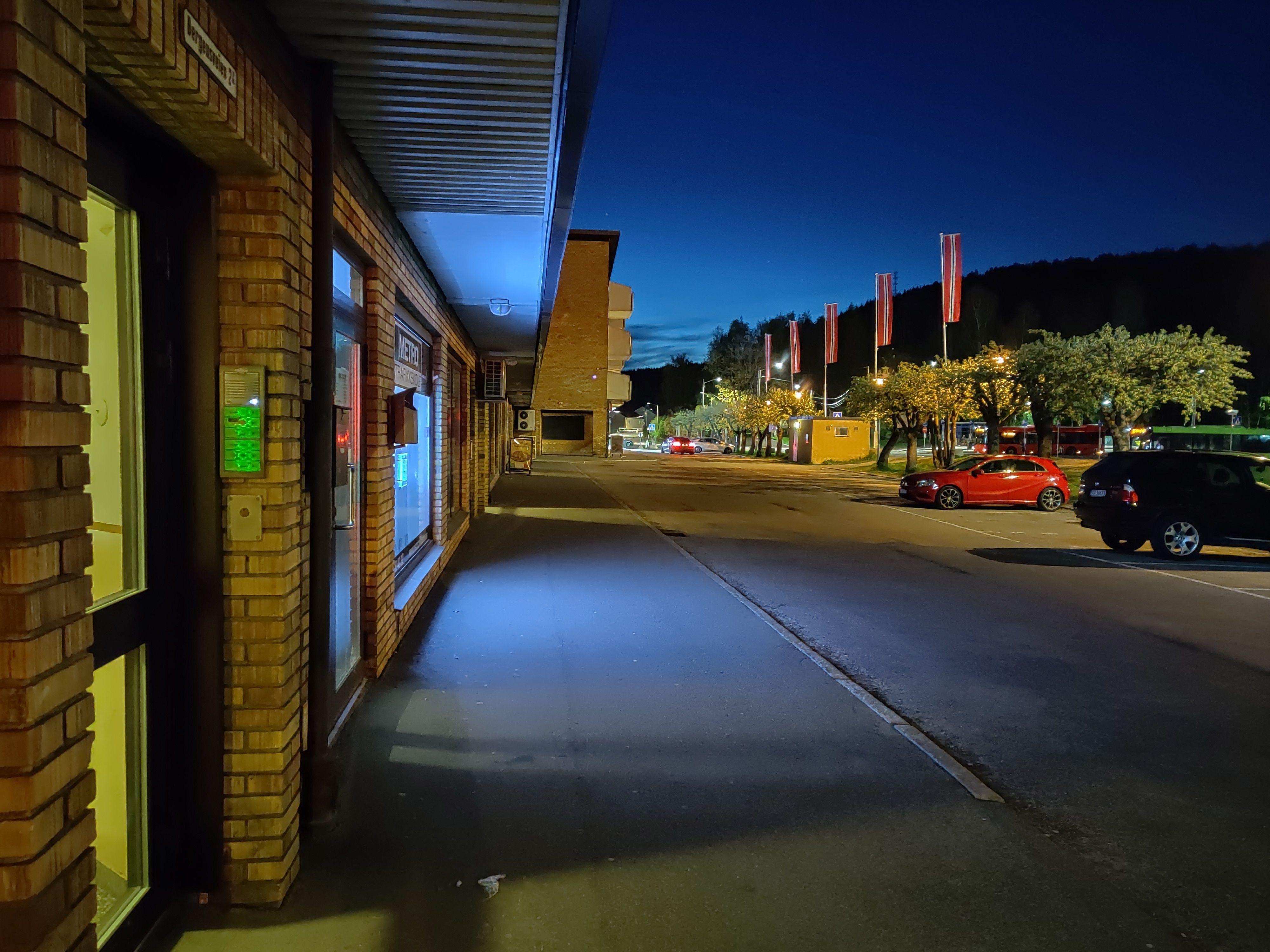 Noen nattbilder blir svært så gode.