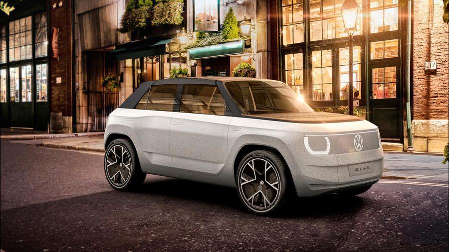 Volkswagen har vist frem knøttliten elbil