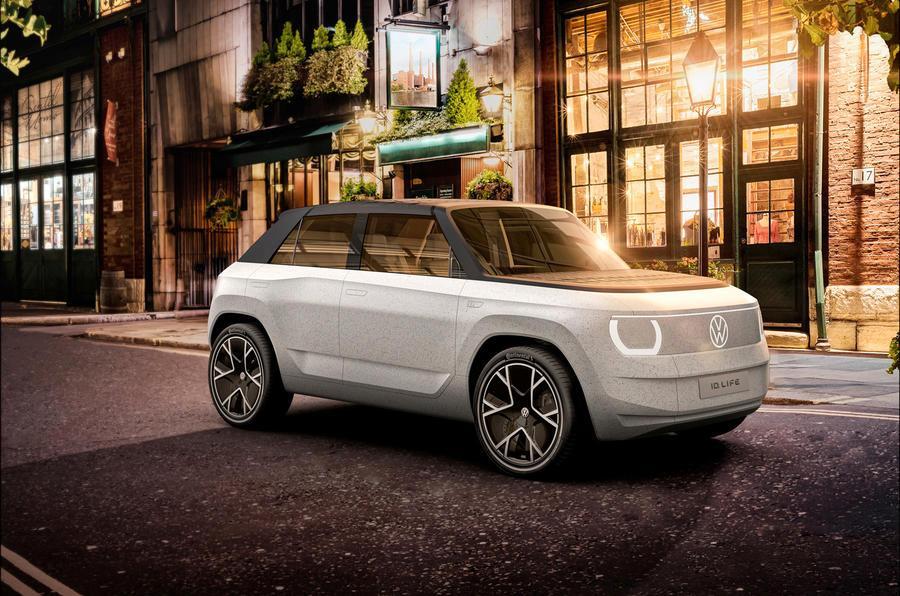«Halla! Her kommer jeg.» - både Volkswagen og Honda har gjort et slags ansikt av frontene på sine nyeste elbiler, og ID.2 er intet unntak fra trenden.