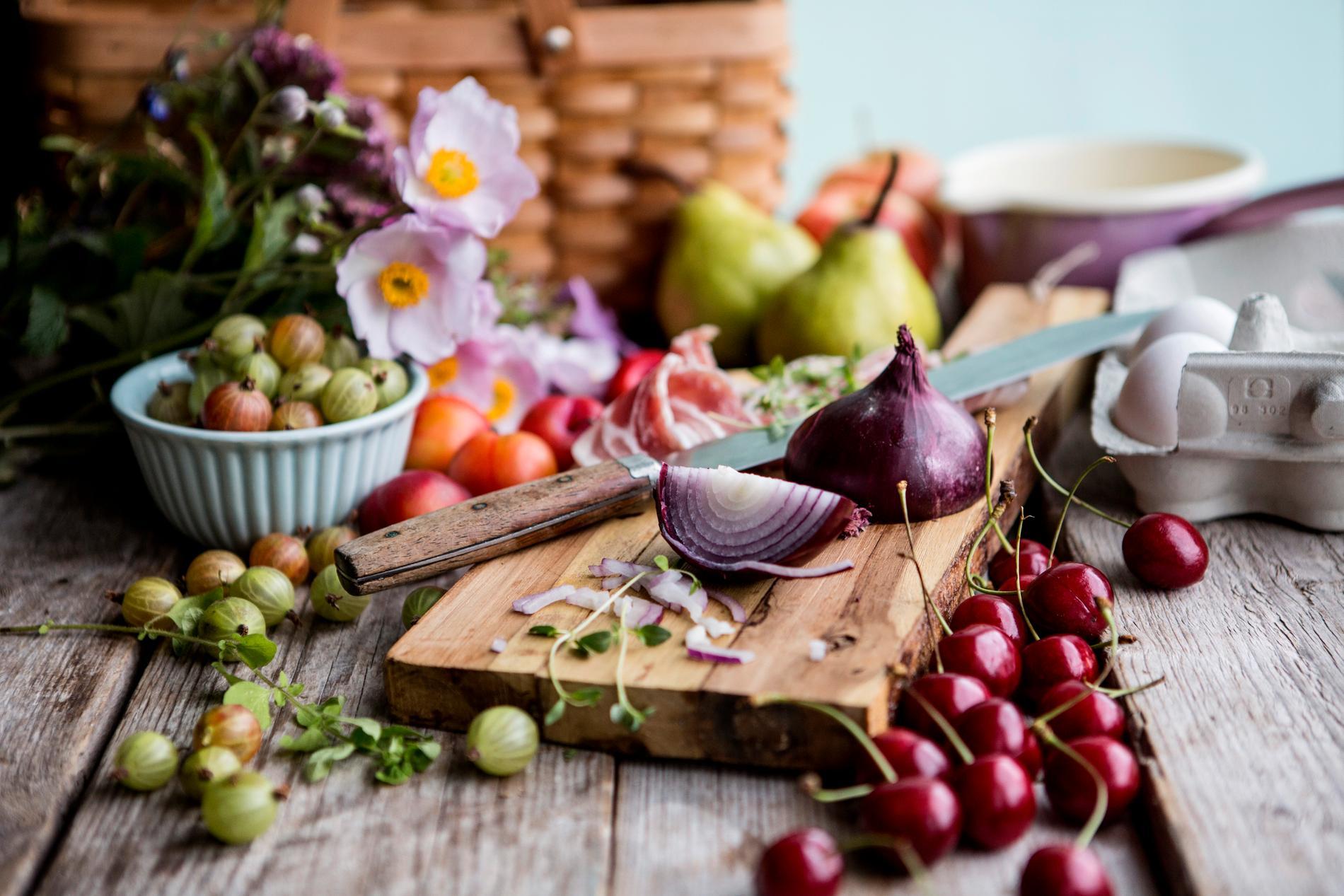 Frukter, bär och många andra livsmedel är antiinflammatoriska och bra för hälsan.
