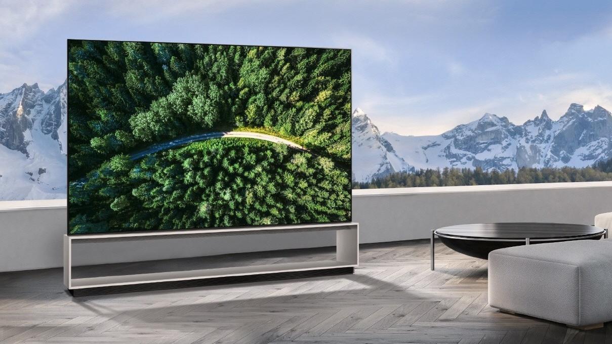 LG verdens første 8K-OLED-TV har fått pris