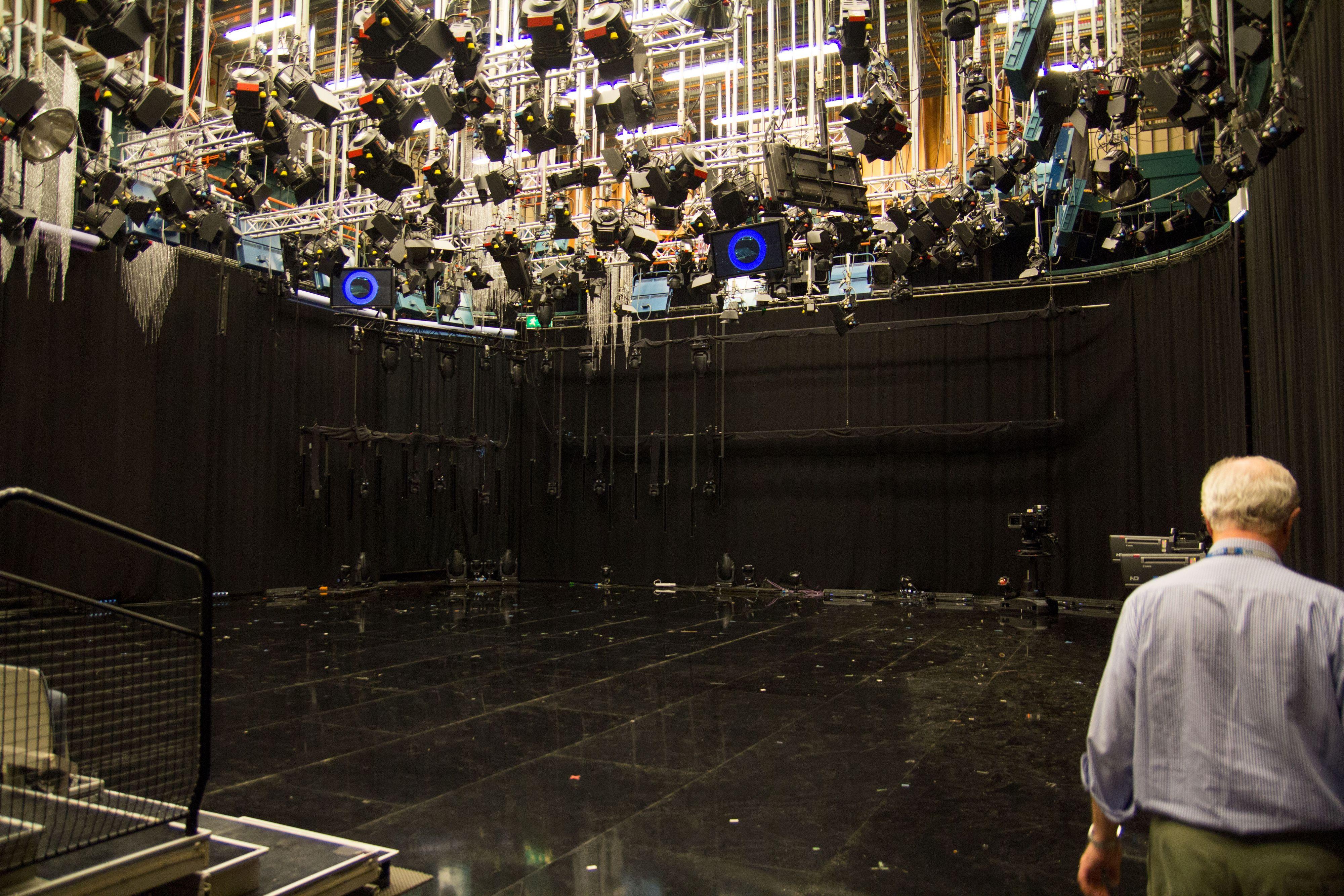 Det trengs mye lys for å lage gode TV-bilder.Foto: Ole Henrik Johansen / Hardware.noo