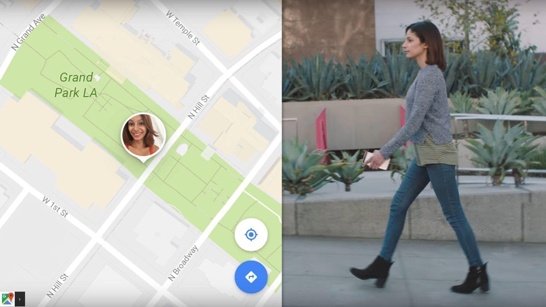 Snart kan du vite akkurat hvor vennene dine er i Google Maps
