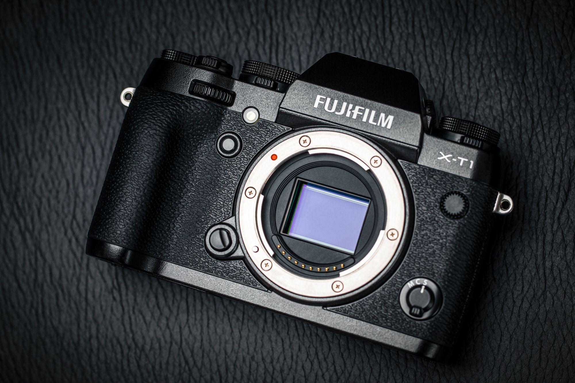 Fujifilm X-T1s X-Trans CMOS II. (Foto: Johannes Granseth)