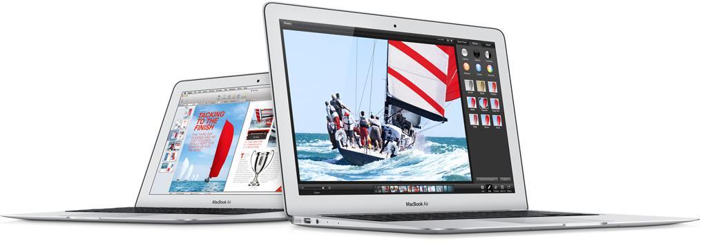 MacBook Air har fått en overhaling.Foto: Apple