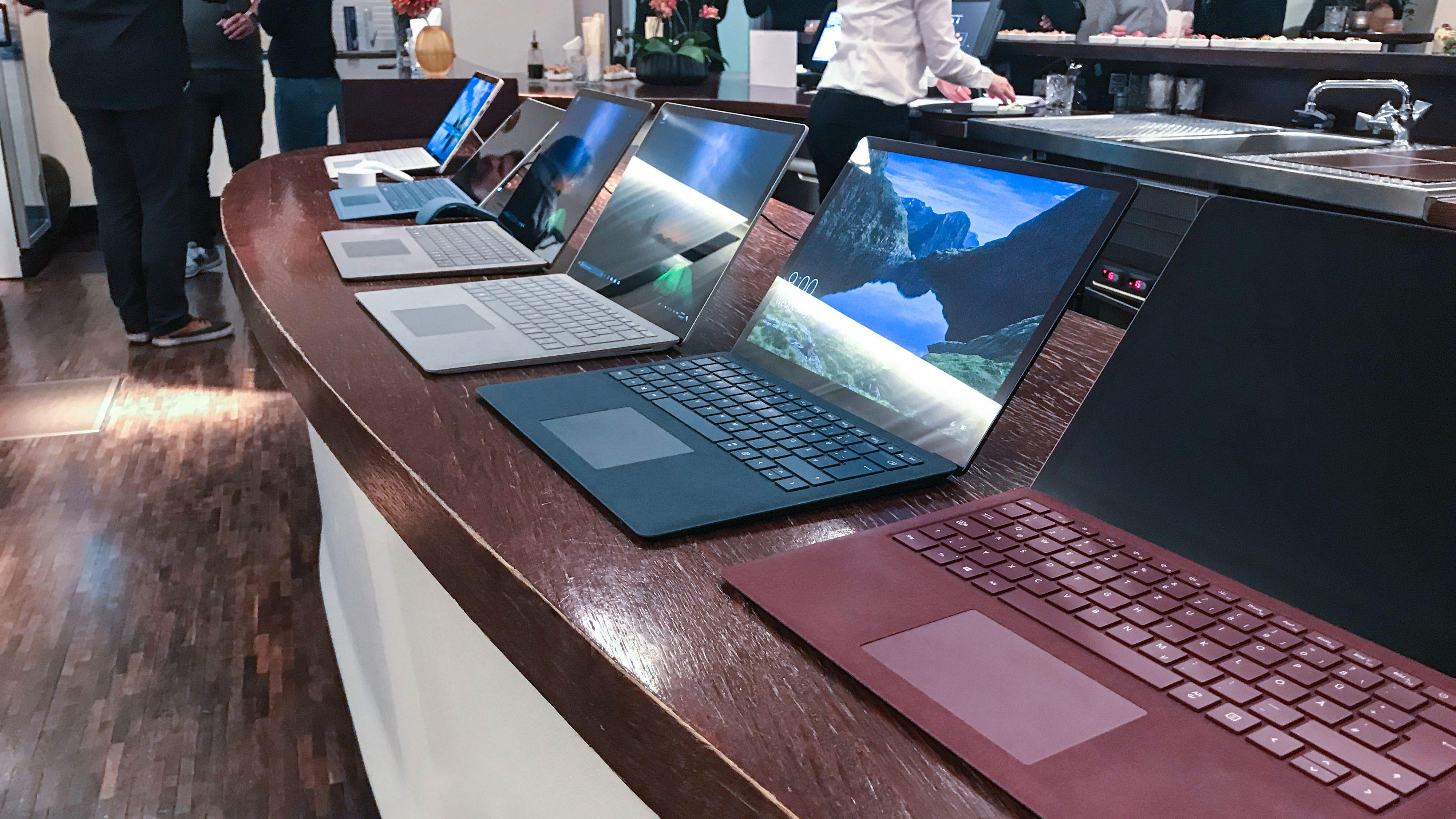 Det begynner å bli en ganske solid lineup, Surface-serien til Microsoft.