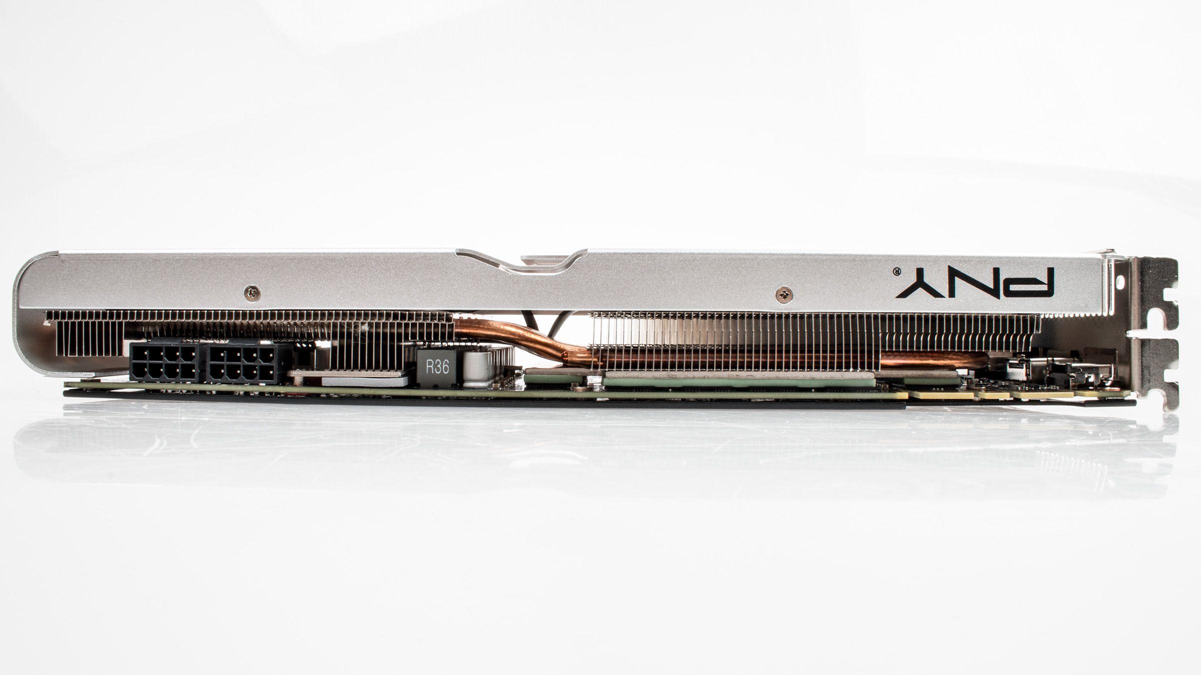 PNY XLR8 GeForce GTX 780 Ti PP har en stor og fin kjøler.