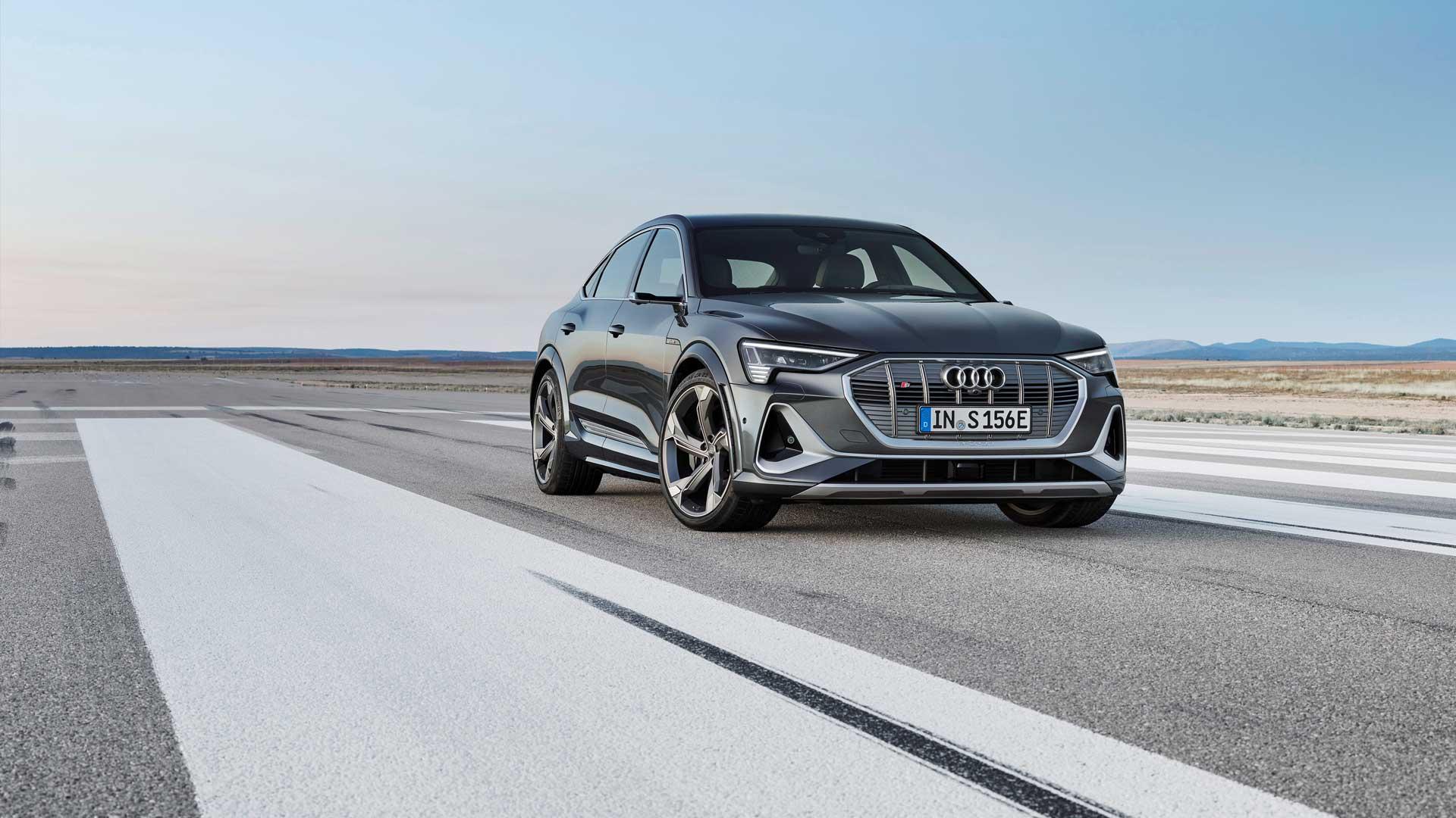 Hver femte Audi e-tron globalt gikk til Norge i fjor