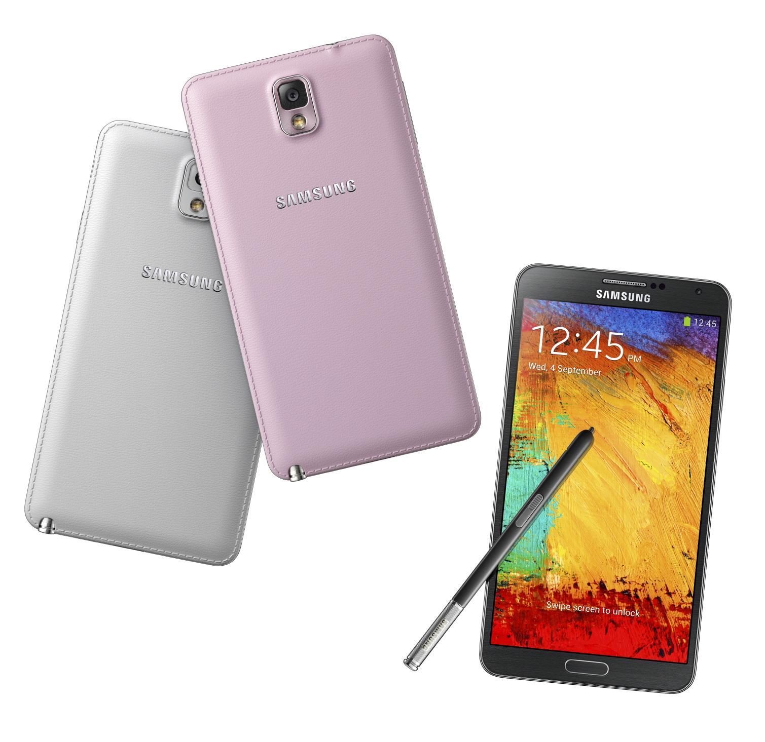 Samsung Galaxy Note 3. Foto: Samsung