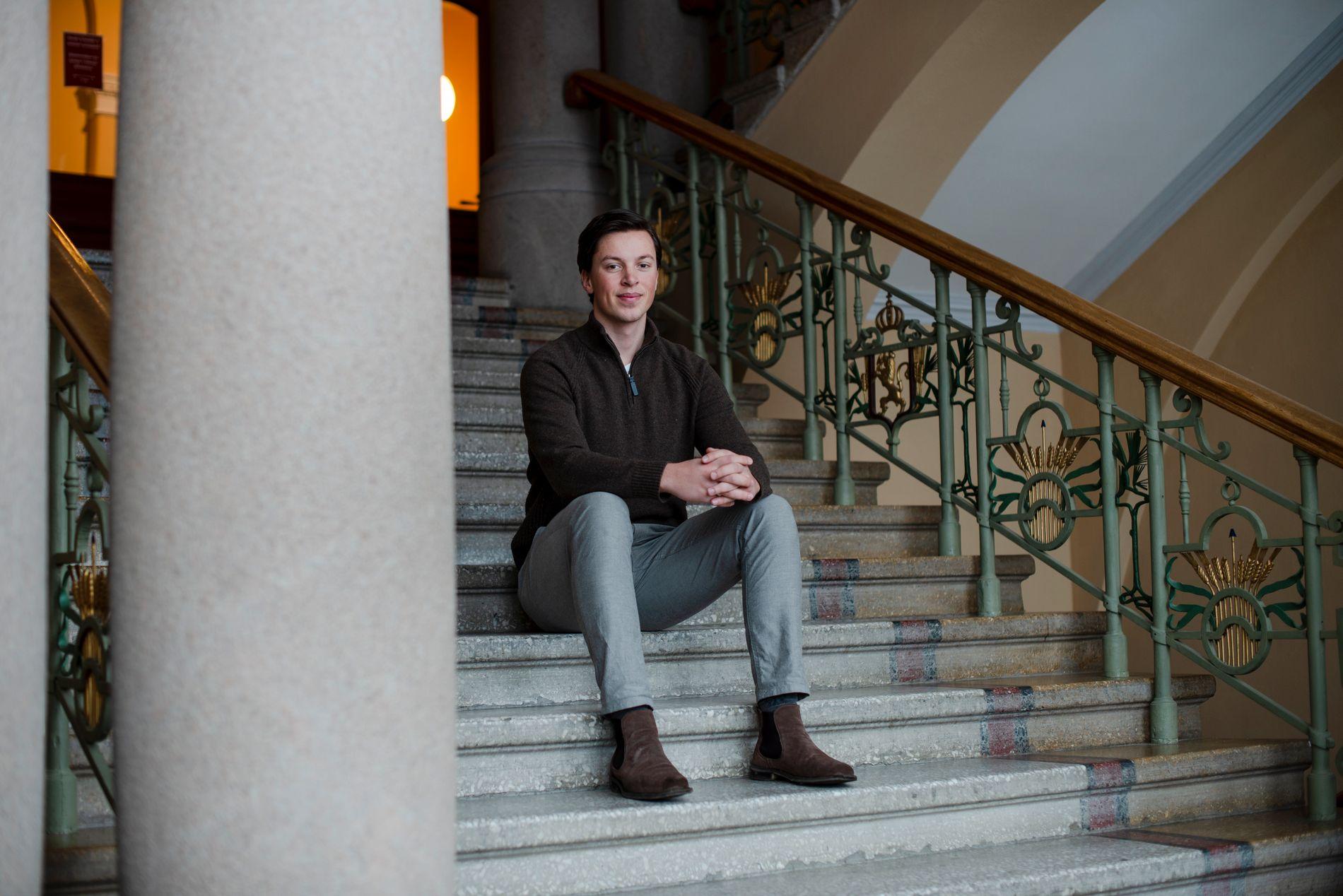 PERFEKT KOMBINASJON: Anders Walberg Nilsen fant drømmeutdanningen på NMBU, et masterprogram i skjæringspunktet mellom realfag og økonomi