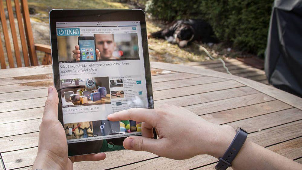 Du må ikke ha en ny iPad for å spille av video, men det hjelper på bruksopplevelsen. Her avbildet årets iPad-modell.
