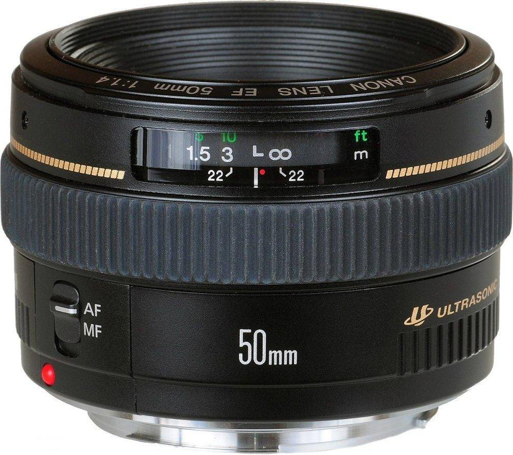 Nifty Fifty: Canon EF 50mm f/1.4. Foto: Canon